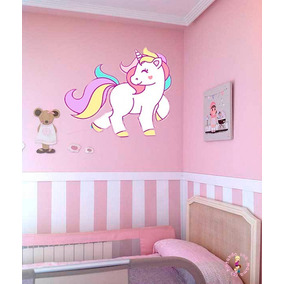 Vinilos decorativos infantiles unicornio decoraci n para for Cuarto de unicornio