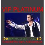 Entradas Arjona Platea Vip Platinum Mercadolider Gold
