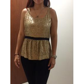 Elegante Blusa De Noche Burberry Original!! Talla 34
