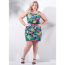 Roupa Feminina Plus Size ( Tamanhos Grande ) Vestido