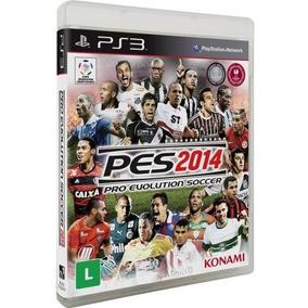 Jogo Ps3 - Pro Evolution Soccer Pes 2014 Novo Lacrado