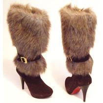 Botas Piel Confort Elegancia Calzado Dama Moda Actual