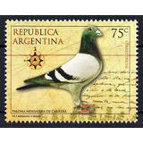 Argentina 1999 Gj 2958** Mint Paloma Mensajera De Carreras