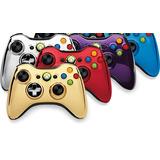 Control Compatible Xbox 360 Alambrico Cromado Envio Gratis