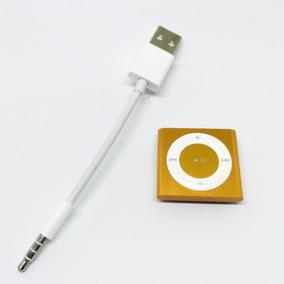 Cable Cargador Y Sincronizador Ipod Shuffle 3.5mm A Usb