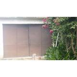Portón De Garaje 3 X 2 M Hierro Y Chapa Buen Estado Solida.