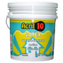 Acril 10 Latex Interior Exterior 20 Lts Antihongo Polacrin