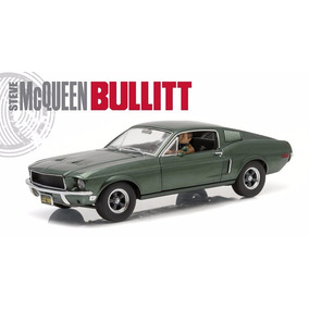 Greenlight 1:18 68 Ford Mustang Gt Mc Queen Bullit Lyly Toys