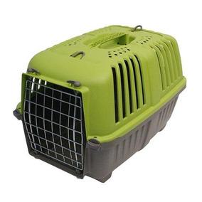 Transportadora Para Mascotas Pratiko Con Puerta Metal