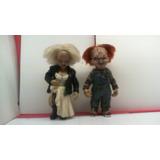 Dr.veneno Chucky Chucky Y Tiffany 14 Cm Aprox. Leer Descripc