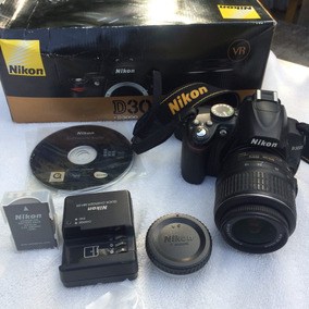 Camara Nikon D3000 18-55 Vr - Para Reparar O Repuesto