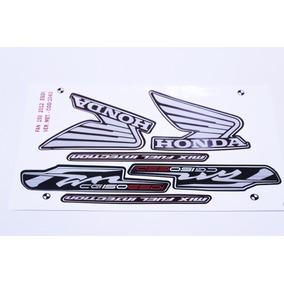 Kit Adesivos - Jogo De Faixa - Fan 150 Esdi 2012 Cinza