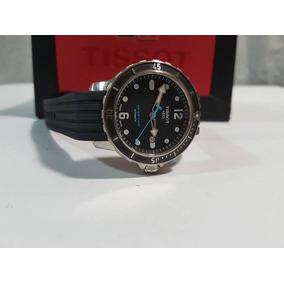 7ee088a0f0d Relogio Tissot Seastar Aro Plaque - Relógios De Pulso no Mercado ...