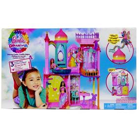 Castelo Casa Da Barbie Com 3 Andares 95cm E Móveis - Mattel
