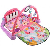 Fisher Price Pataditas Piano Gimnasio Musical Rosa.