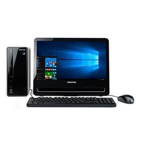 Desktop Positivo Stilo Ds3558 Celeron 4gb 500gb Lcd 18.5 Pol