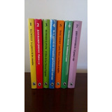 Novelas Colección Club Joven 7 Tomos Bruguera