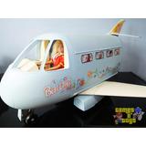 Avião Da Barbie Mattel Faz Som Anos 80 90