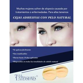 Cejas Adhesivas Postizas De Cabello Natural