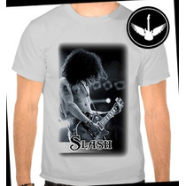 Camiseta Slash Guns N Roses Banda Rock Ou Baby Look