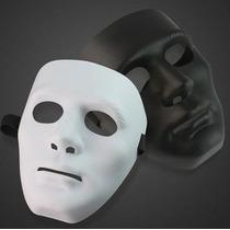 Máscara Jabbawockeez Dança Teatro Fantasia Branca