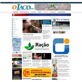 Template Completo De Um Portal De Noticias Para Blogspot