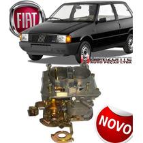 Carburador Fiat Uno Mille 1.0 Brio Duplo Gasolina Novo Mecar