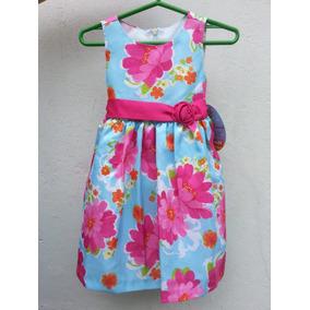 Vestido De Fiesta Nena 2 Años. Importado