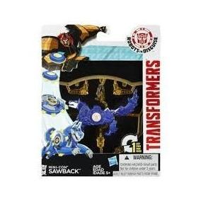 Muñeco Sawback Transformer- Hasbro- Giro Didactico