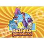 Painel Galinha Pintadinha Em Tecido, Festa Infantil,banner