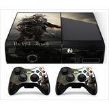 Xbox 360 E Slim (horizonal) Piel Elder Scroll