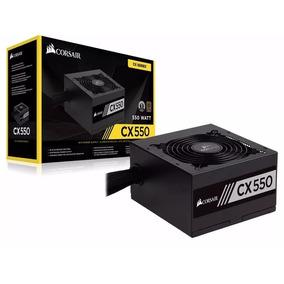 Fonte Corsair Atx 550w Real Cx550 80 Plus Bronze (cx500)