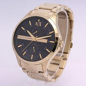e6902e69f2e Relógio Armani Exchange Ax2122 Dourado Grande - Relógios De Pulso no ...