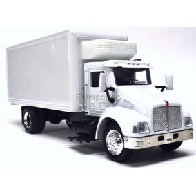 1:43 Camion Reparto Rabon Kenworth T300 Con Thermo A Escala