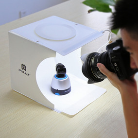 Mini Studio Fotográfico Portátil 40 Leds + 6 Fundos