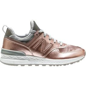 new balance zapatillas mujer doradas