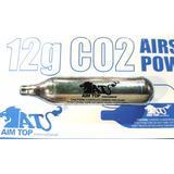 Garrafa Co2 12g Para Airsoft Y Réplicas De Armas