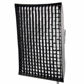 Softbox Greika Bowens Strip Light 80x120cm Com Grid 5x5cm