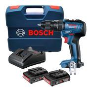 Parafusadeira Furadeira Impacto Gsb 18v-50 Bosch 2 Baterias
