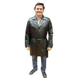 Campera De Cuero Legítimo Calidad Modelo Mike Guns Leather