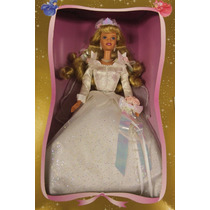 Barbie Bela Adormecida Aurora Noiva Sleeping Beauty Wedding