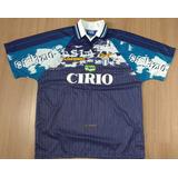 Camisa Do Lazio Da Itália Antiga Novinha Sem Uso