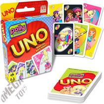 Jogo Uno Polly Pocket - Mattel