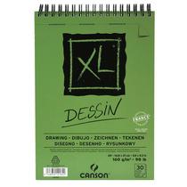 Bloco Espiralado Canson Xl® Dessin 160g/m² A5 C/ 30 Folhas