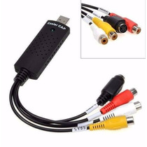 Placa De Captura Video Usb Easycap Audio/video Notebook Pc