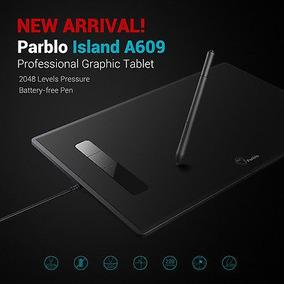 Tableta Profesional Parblo Isla A609 Usb Gráfico Dibujo Con