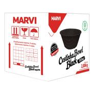 Bowl Black 300ml Pote Comestível Cx 120 Un - Marvi