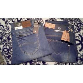 Blue Jeans Caballero Lee Op Levis Originales