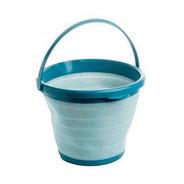 Balde De Plastico 10 Litros Azul Lyor Multiuso 7969 Loi