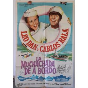 Afiche Cine Poster Carlos Carlitos Bala Leo Dan Muchachada